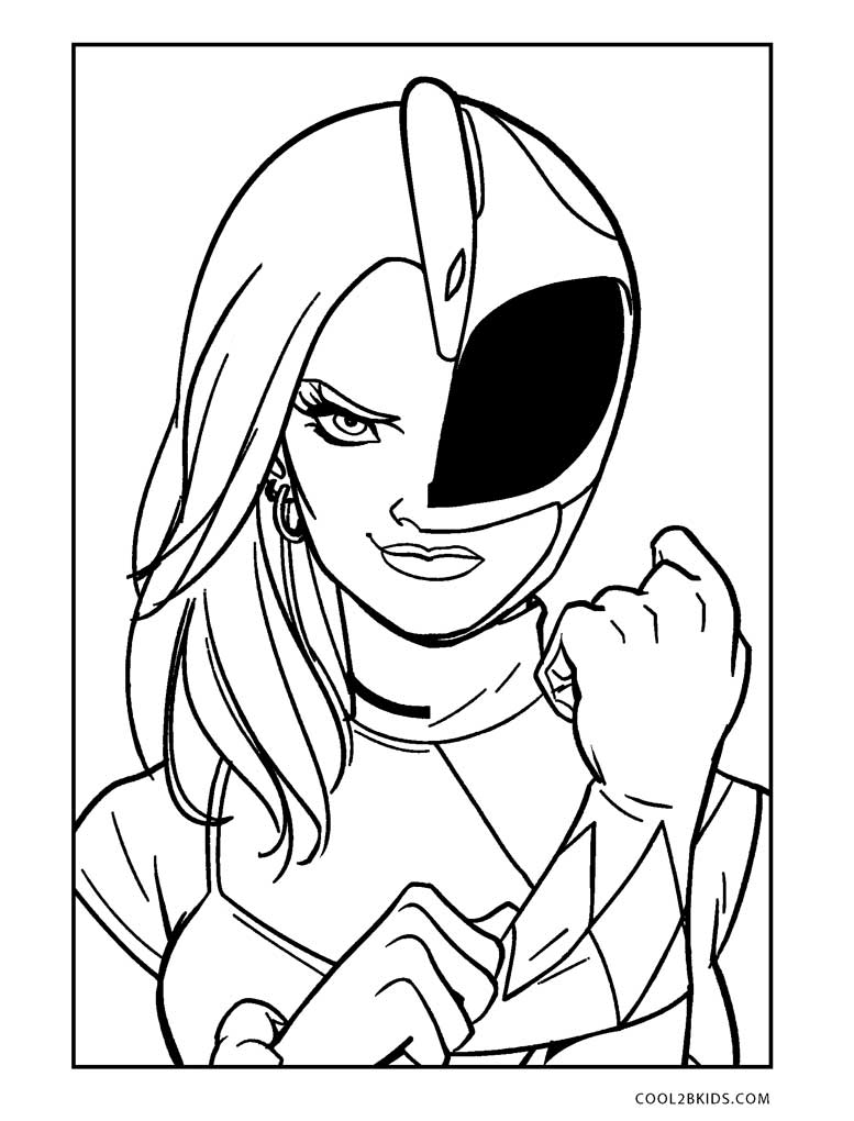 It is a photo of Delicate Power Rangers Printables